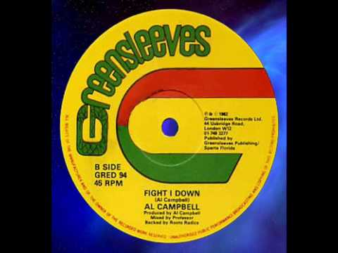 Al Campbell - Fight I Down 12 1982