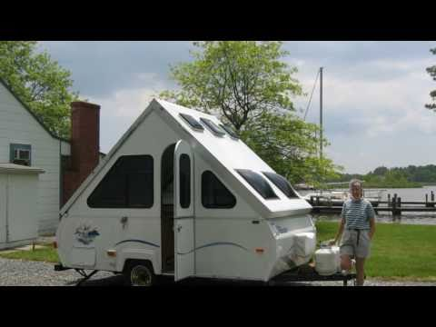 "02 Our Aliner Camper - ""Tin Tent"" Camping Tour of America's National Parks"