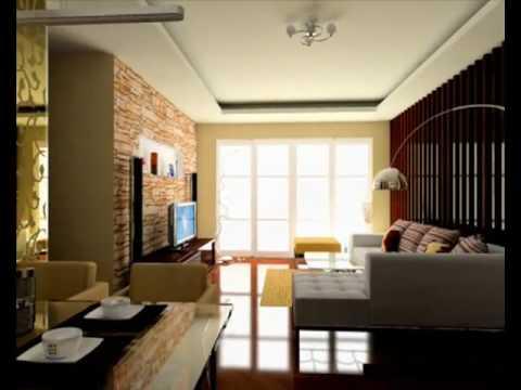 Sal n 3d con varios estilos e iluminaci n youtube - Iluminacion led salon ...