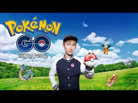 Crazy Singaporeans plays Pokemon Go! (ft. Shannon Zann) | Jim Koh