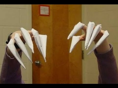 Как сделать своими руками когти фото