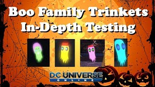 Boo Family Trinkets In-Depth Testing