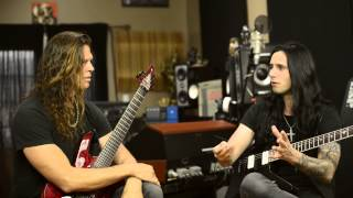 Chris Broderick and Gus G Trade Licks, Talk Guitar