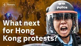 China and Hong Kong leader condemn 'violent' protesters