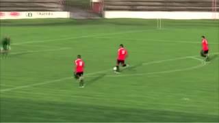 Komický  útok fotbalistů Topoľčan