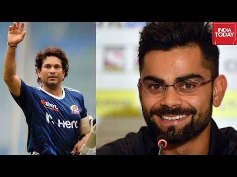 Virat Kohli Talks About Comparing Him To Sachin Tendulkar