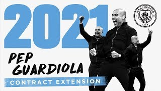 PEP GUARDIOLA | CONTRACT EXTENSION | Exclusive Interview