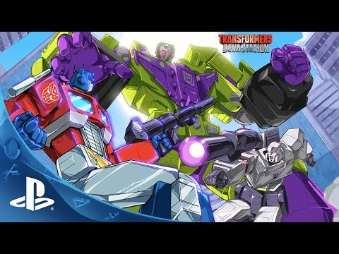 TRANSFORMERS: Devastation - Video Game Teaser Trailer | PS4, PS3