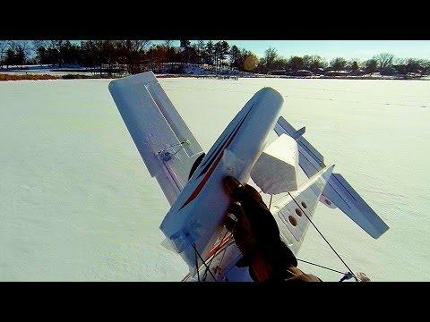 My 500W Apprentice S 15e - Fly Hard - Crash Hard - Benton Lake, Cologne, MN - January 18th, 2014
