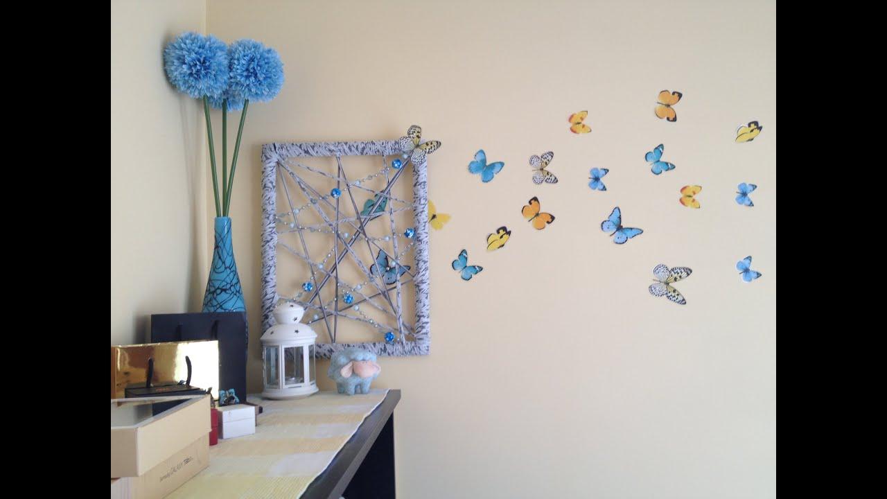 Декор комнаты своими руками - 12 лучших идей, красивый декор 33