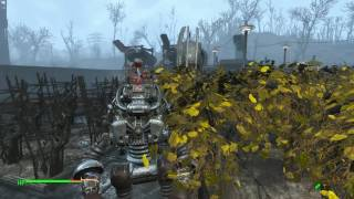 Fallout4 - Contraptions DLC - Auto Farm with hoppers and conveyor belts