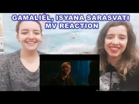Gamaliél, Isyana Sarasvati - A Whole New World | Music Video Reaction
