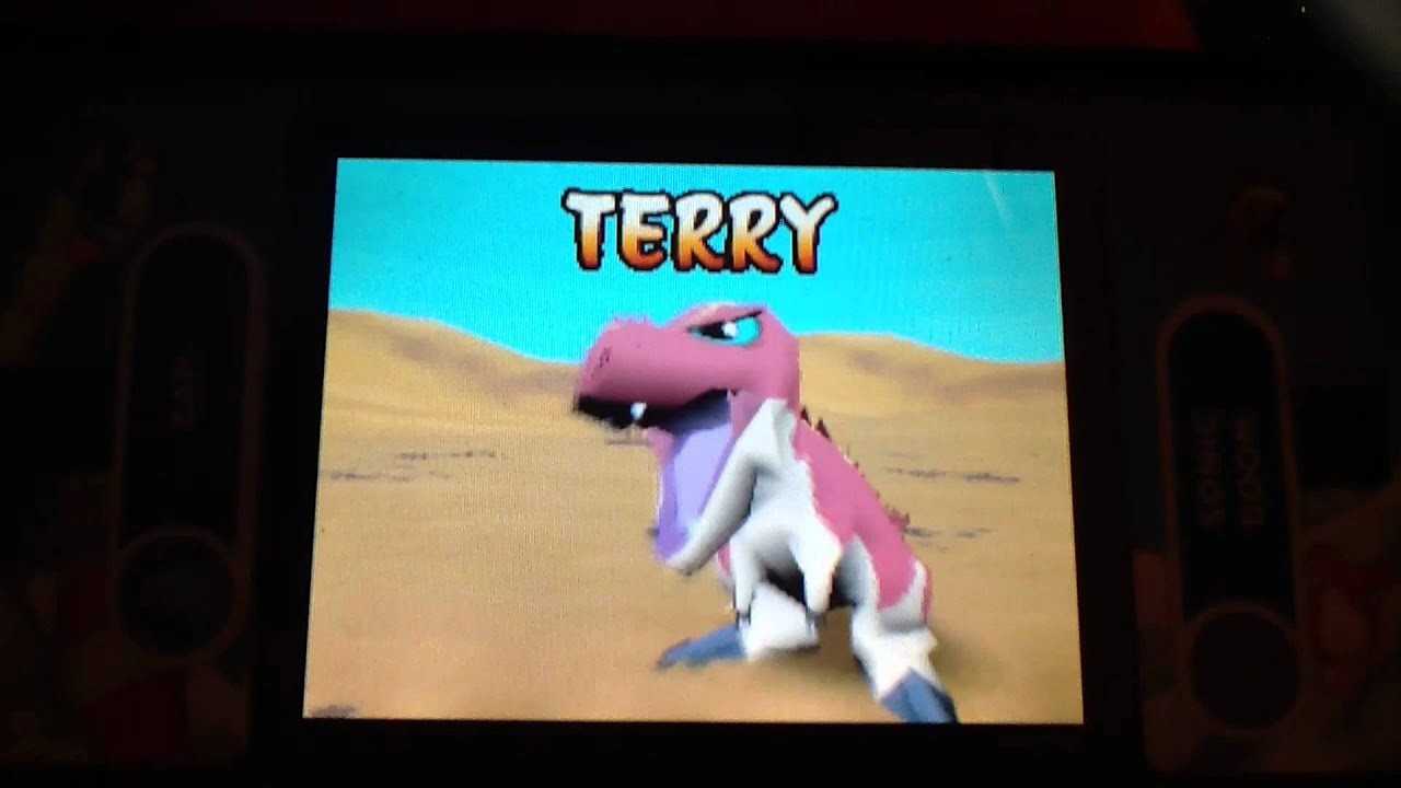 Dinosaur king ds terry gameplay youtube