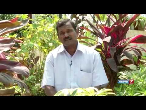 Have a look at terraced flower garden | Poovali | News7 Tamil | 05-05-2015