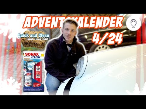 Autopflege Adventskalender // 4/24 - Anleitung: SONAX XTREME Protect+Shine Hybrid NPT//Porsche 911
