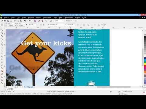 Curso Introducción a CorelDraw X6 - 18 Usar Plantillas para Crear Documentos