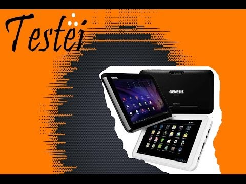 Tablet Genesis Gt-7240 - Unboxing
