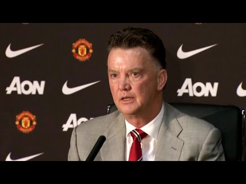 Manchester United - Louis Van Gaal First Press Conference - 'Hopes To Fulfil Expectations'