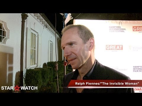 Ralph Fiennes red carpet interview at 21st annual Hamptons International Film Festival