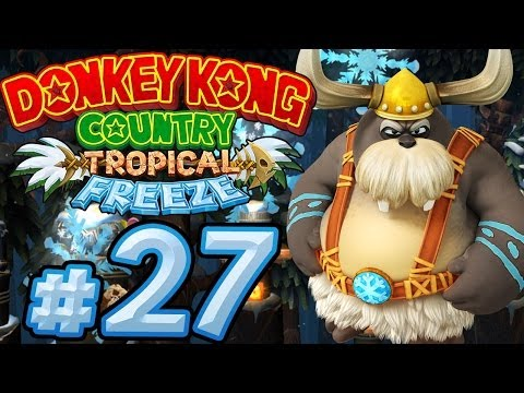 Let's Play Donkey Kong Country Tropical Freeze - Part 27 - Tödliche Schneeflocken!