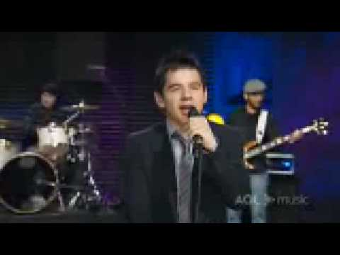 David Archuleta AOL Music Sessions - Touch my hand