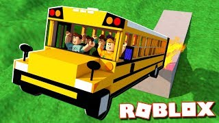 SCHOOL BUS RIDE SIMULATOR IN ROBLOX!