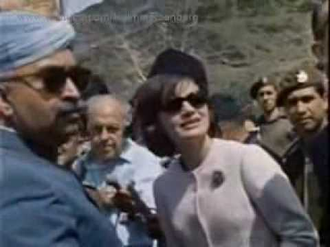 Jacqueline Kennedy in Pakistan (Color)
