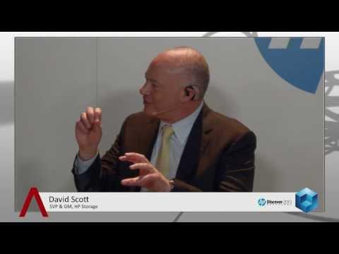 David Scott - HP Discover Barcelona 2013 - theCUBE
