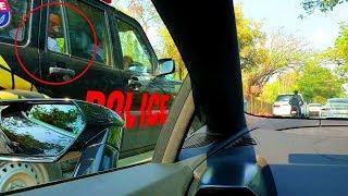 Even Cops Love Lamborghini V10 Sound Huracan Evo Launch #DinosVlogs