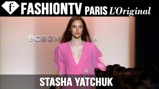 Model Stasha Yatchuk | Beauty Trends for Spring/Summer 2015 | FashionTV