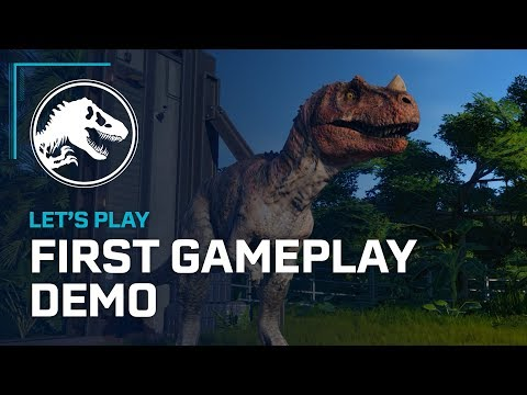 Jurassic World Evolution - First Official Gameplay Demo