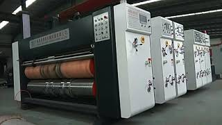 automatic pizza box making machine