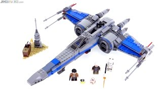 LEGO Star Wars Resistance X-Wing Fighter review! 75149