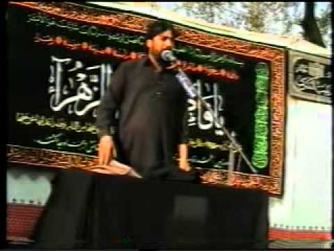 Chakwal - Murid Majlis Bad az Sham e Ghariban 2010 (3) Waseem Balouch