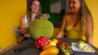 Exotic Tropical Fruit Tasting MUKBANG In Thailand!