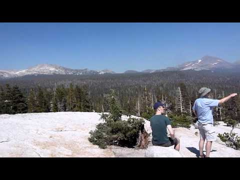 Panaromic view from the top of Lembert Dome 110816 Video