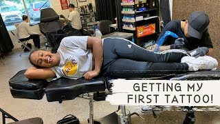 My First Tattoo Experience! + Parent's Reaction