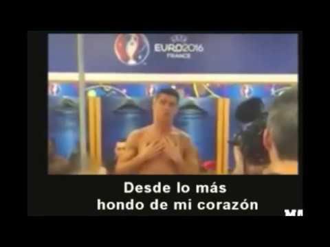 Se viralizó un video inédito de Cristiano Ronaldo