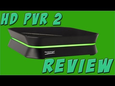 Hauppauge HD PVR 2 Review + Quality Test
