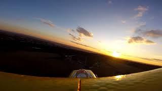FunCub vs západ slunce onboard GoPro 5 Session