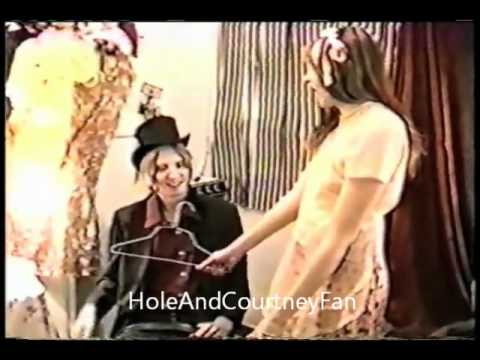Courtney Love Doll Crafting Class 1995   (ft.Dame Darcy Eric Erlandson)
