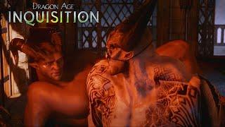 Dragon Age Inquisition: Iron Bull Gay Romance Complete All Scenes(Qunari Version)