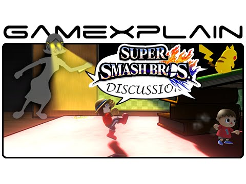 Super Smash Bros Update: Game & Wario Stage, Pac-Man Cameo, Mii Hats - Discussion (Wii U & 3DS)