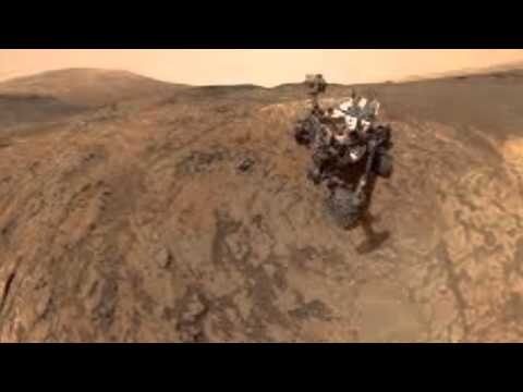 Liquid water on Mars right under rover's nose?