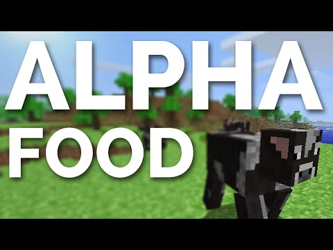 Alpha Hunger System in Minecraft 1.8!
