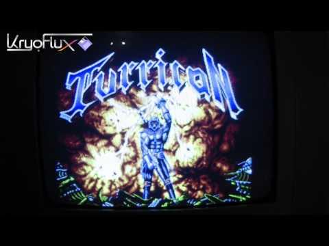 KryoFlux - Atari ST loading Turrican remaster