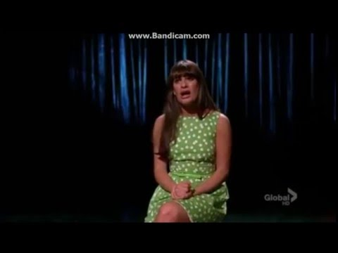 Glee - Big Girls Don't Cry Full Performance