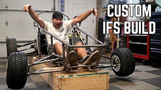 Independent Front Suspension Build! | 750cc Cross Kart Pt. 9