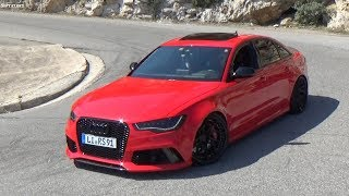 L'AUDI LA PLUS BRUYANTE !! Audi RS6 C7 Sedan (Fake Rs6)