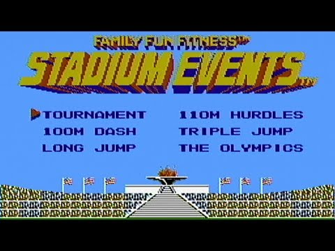 Stadium Events - NES Gameplay